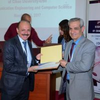 Mr. Khalid F. Jasim won the best research paper award