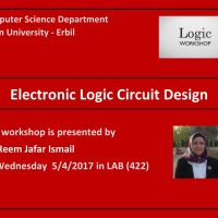Electronic Logic Circuit Design workShop