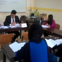 Defence Sessions of Graduation Projects in the Department of English