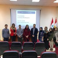 Workshop on prepare fourth year students for the global market