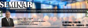 Seminar Presentation – prof. Riadh Al-Mahaidi