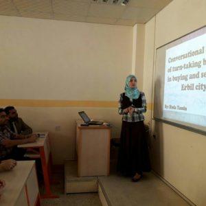 Conversational Anlysis of aTurn-taking Behaviour in Erbil City