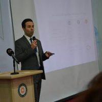 Seminar of Assistant Lecturer Salar Dulaur in the department of Media