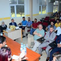 Departments of English & Translation organized a debate between students