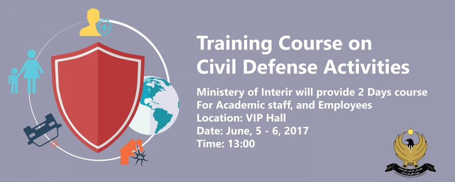 Training Course on Civil Defense Activities