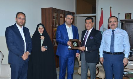 Al-Zahraa University delegation from Iran visited Cihan University