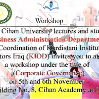 AWorkshop on Corporate Governance (CG)