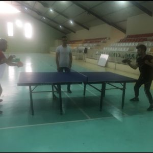 Final Table Tennis Match