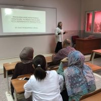 "a seminar entitled ""Managing and Controlling the Media Speech with Translation Reference"