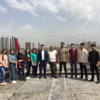 Second Scientific Visit To The Building Construction Of  Cihan Bank
