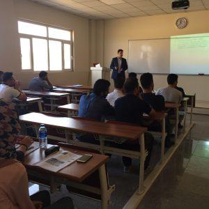 "Seminar entitled ""Using University Information System"""
