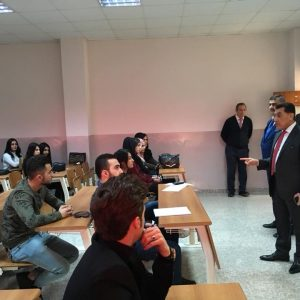 The President of Cihan University-Erbil visit to the Department of Accounting