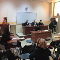 محكمة افتراضية بعنوان ( المحاكم الجنائية الدولية الخاصة)