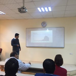"Seminar entitled ""Population"""