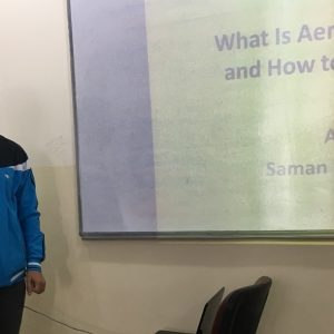 How to Improve Aerobic Capacity, seminar by Mr. Saman Maghded Abdullah