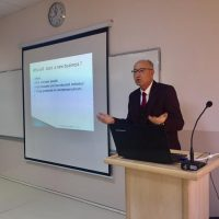 "a seminar entitled ""Entrepreneurship and small business management"""