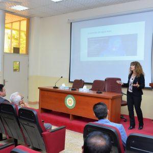 ندوة بعنوان الآم الرقبة والإجراءات الوقائية الغير دوائية