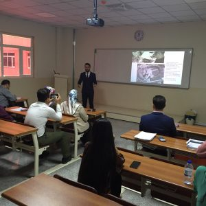 "Seminar entitled ""Application of Remote Sensing & GIS"""