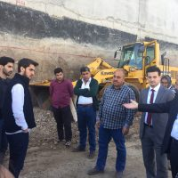 Scientific Visit To New Building Construction Of Cihan Bank