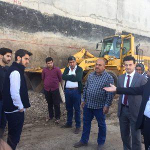Scientific Visit To New Building Construction Of Cihan Bank