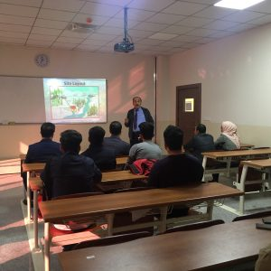 "Seminar entitled ""Prefeasibility study of small hydropower projects in kurdistan"""