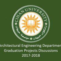 مناقشات مشاريع التخرج لطلاب المرحلة الخامسة في قسم الهندسة المعمارية