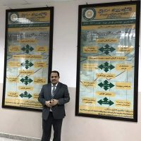 The President of the University inaugurates an exhibition of educational murals in the Department of Business Administration
