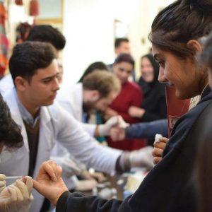 Hepatitis B Virus test and awareness a volunteer work