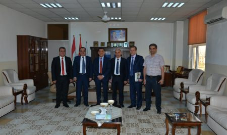 The visit of the Delegation from Moscow University and Yerevan University to Cihan University – Erbil