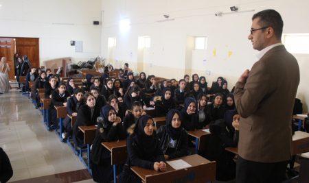 جامعة جيهان – أربيل & منظمة سكولر التربوية تنظم حملة توعية لطلبة المدارس