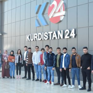 Scientific Visit of Media Department to Kurdistan 24 Channel