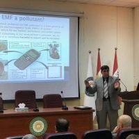 A Workshop on the Effects of the Portable Transmitting Towers