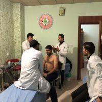 زيارة ميدانية الى مركز معالجة اصابات الرقبة