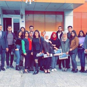 An Educational Trip to Rudaw Media Network