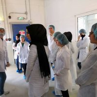Scientific Trip to Danone Company