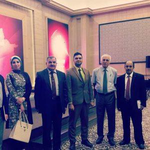 Accounting participate in the economic symposium