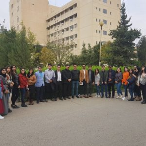 زيارة علمية لمستشفى رزكاري التعليمي في أربيل