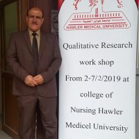 Dr. Kareem Aziz participates in qualitative research workshop