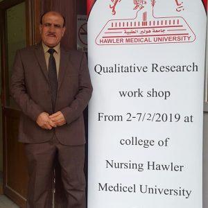 Dr. Kareem Aziz participates in qualitative research workshop