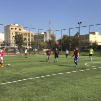 The Department of Communication Held a Friendly Football Match