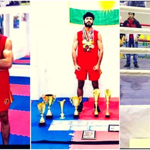 A student from Cihan University-Erbil achieves first place in the finalists of the Kung Fu Championship in Iran