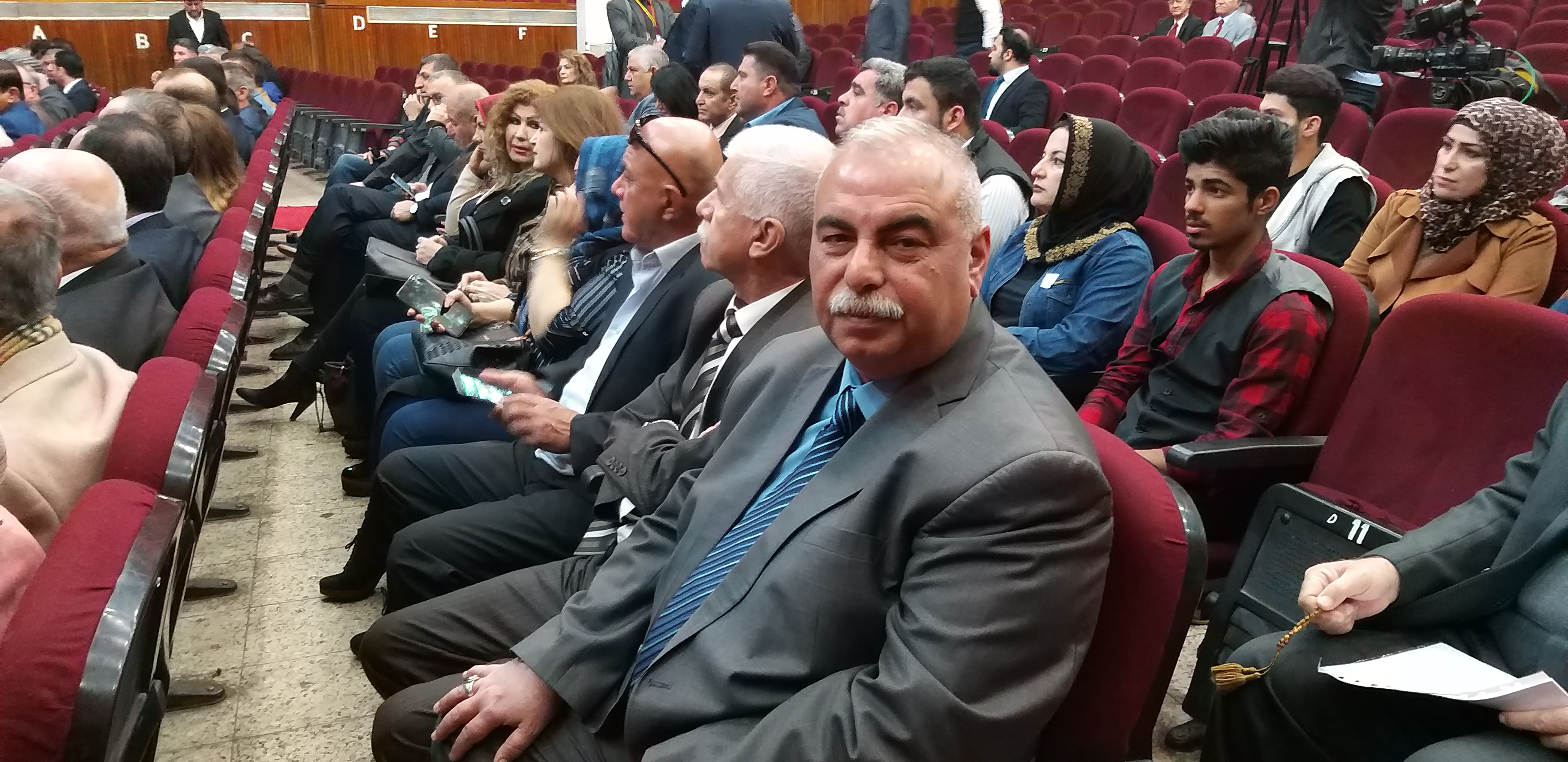 The participation in a dialogue seminar on Palestinian National Culture Day