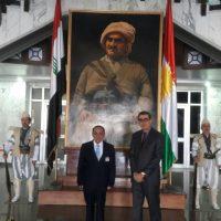 زيارة الى مركز بحوث برلمان كوردستان