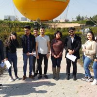 Architectural Engineering Department arrange a Site Visit for the 4th year students