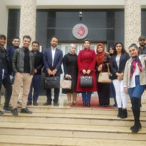 A scientific visit for the students of the (Finance and Banking & Accounting) department to Cihan Bank in Erbil