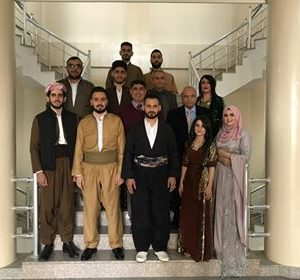 students of the Department participate in the occasion of the Kurdish dress day