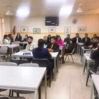 زيارة طلبة المرحلة الأولى لمكتبة الجامعة