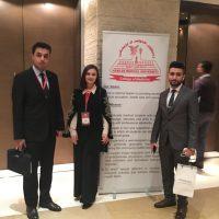 مشاركة مجموعة من خريجي قسم البايولوجي  في مؤتمر دولي