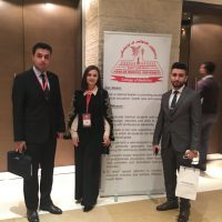 Graduated students participating in 3rd International Conference