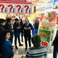 A scientific visit to  Carrefour Home Shopping Facility in family Mall, Erbil.